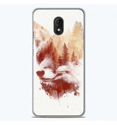 Coque en silicone pour Wiko Lenny 5 - RF Blind Fox