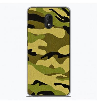 Coque en silicone Wiko Lenny 5 - Camouflage