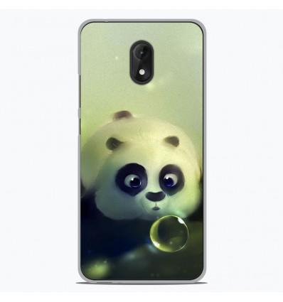 Coque en silicone Wiko Lenny 5 - Panda Bubble