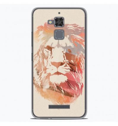 Coque en silicone Asus Zenfone 3 Max ZC520TL - RF Desert Lion