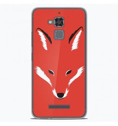 Coque en silicone Asus Zenfone 3 Max ZC520TL - RF Foxy Shape