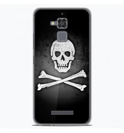 Coque en silicone pour Asus Zenfone 3 Max ZC520TL - Drapeau Pirate