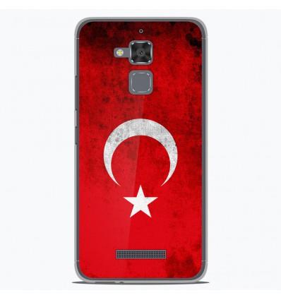 Coque en silicone Asus Zenfone 3 Max ZC520TL - Drapeau Turquie