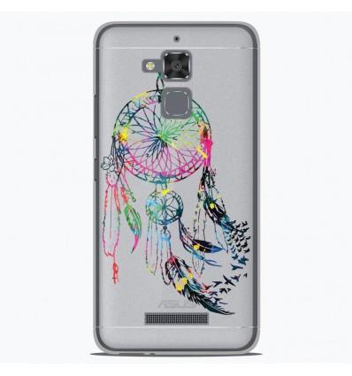 Coque en silicone Asus Zenfone 3 Max ZC520TL - Dreamcatcher Gris