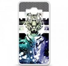 Coque en silicone Samsung Galaxy Grand Prime / Grand Prime VE - Tigre swag