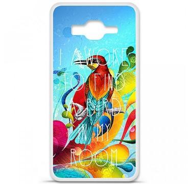 Coque en silicone Samsung Galaxy Grand Prime / Grand Prime VE - Mocking bird