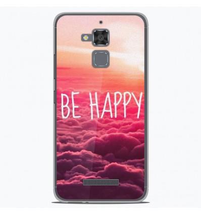 Coque en silicone Asus Zenfone 3 Max ZC520TL - Be Happy nuage