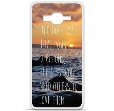 Coque en silicone Samsung Galaxy Grand Prime / Grand Prime VE - Sunshine