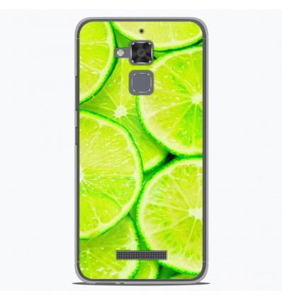 Coque en silicone Asus Zenfone 3 Max ZC520TL - Citron