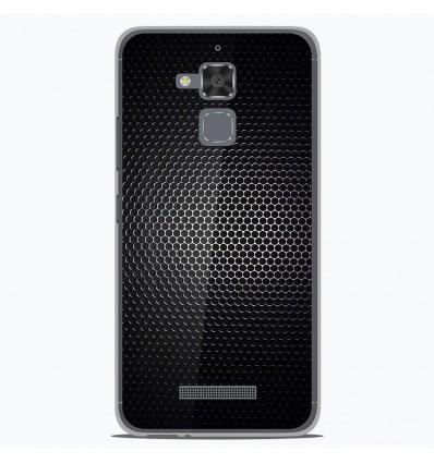 Coque en silicone Asus Zenfone 3 Max ZC520TL - Dark Metal