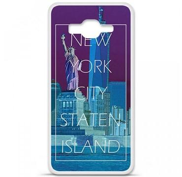 Coque en silicone pour Samsung Galaxy Grand Prime / Grand Prime VE - New york