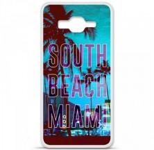 Coque en silicone Samsung Galaxy Grand Prime / Grand Prime VE - South beach miami