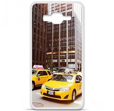 Coque en silicone Samsung Galaxy Grand Prime / Grand Prime VE - NY Taxi