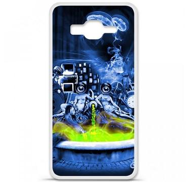 Coque en silicone pour Samsung Galaxy Grand Prime / Grand Prime VE - Fontaine