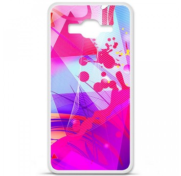 Coque en silicone Samsung Galaxy Grand Prime / Grand Prime VE - Square
