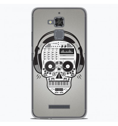 Coque en silicone Asus Zenfone 3 Max ZC520TL - Skull Music