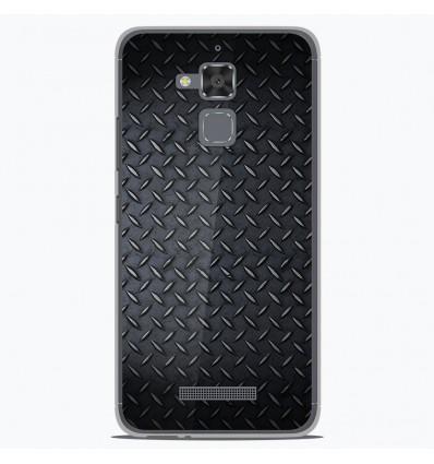 Coque en silicone Asus Zenfone 3 Max ZC520TL - Texture metal