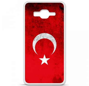 Coque en silicone Samsung Galaxy Grand Prime / Grand Prime VE - Drapeau Turquie