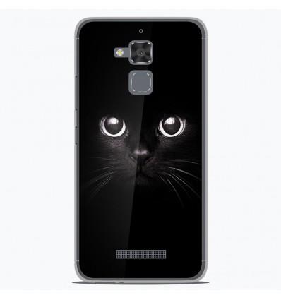Coque en silicone Asus Zenfone 3 Max ZC520TL - Yeux de chat