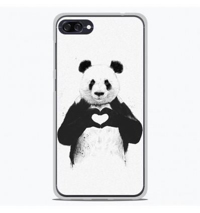 Coque en silicone Asus Zenfone 4 max ZC520KL - BS Love Panda