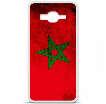 Coque en silicone Samsung Galaxy Grand Prime / Grand Prime VE - Drapeau Maroc