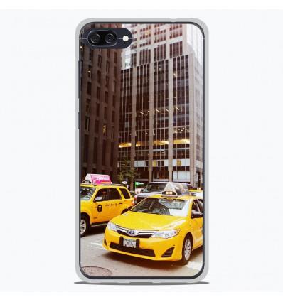 Coque en silicone Asus Zenfone 4 max ZC520KL - NY Taxi