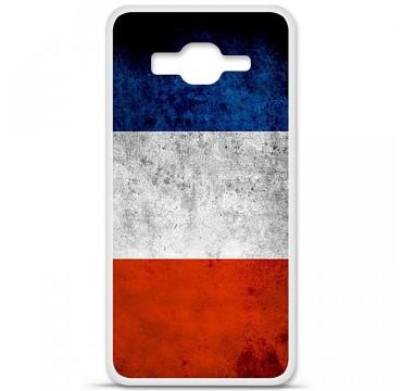 Coque en silicone Samsung Galaxy Grand Prime / Grand Prime VE - Drapeau France