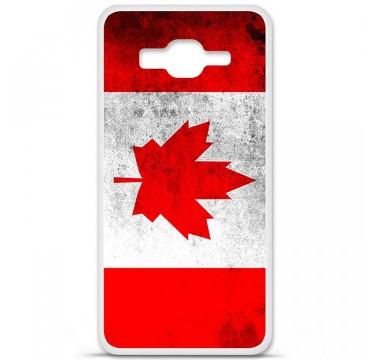 Coque en silicone Samsung Galaxy Grand Prime / Grand Prime VE - Drapeau Canada