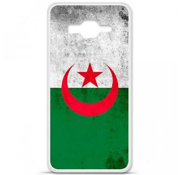 Coque en silicone pour Samsung Galaxy Grand Prime / Grand Prime VE - Drapeau Algérie