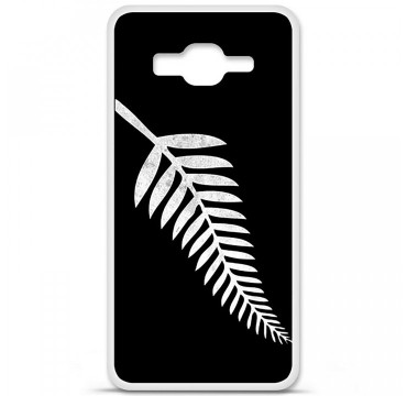 Coque en silicone Samsung Galaxy Grand Prime / Grand Prime VE - Drapeau All-black