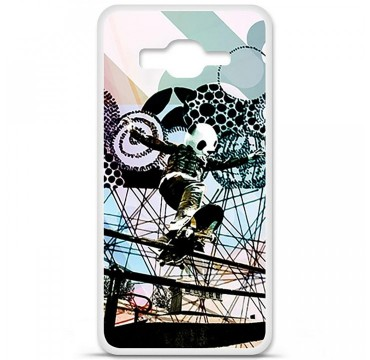 Coque en silicone Samsung Galaxy Grand Prime / Grand Prime VE - Panda skater