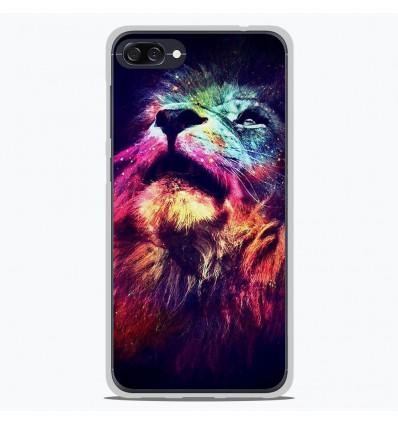 Coque en silicone Asus Zenfone 4 max ZC520KL - Lion swag