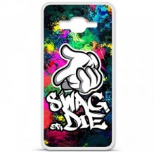Coque en silicone Samsung Galaxy Grand Prime / Grand Prime VE - Swag or die