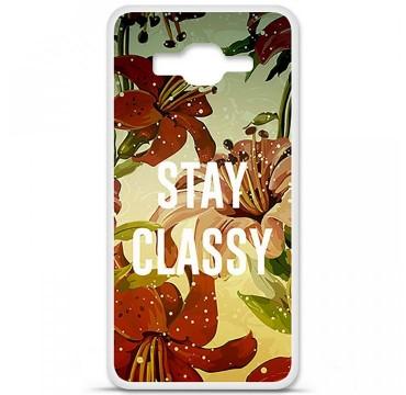 Coque en silicone pour Samsung Galaxy Grand Prime / Grand Prime VE - Stay classy