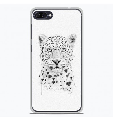 Coque en silicone Asus Zenfone 4 Max ZC554KL - BS Love leopard