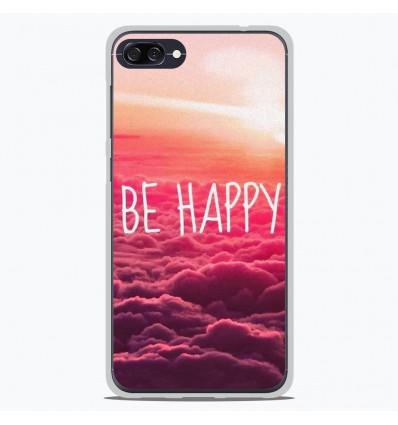 Coque en silicone Asus Zenfone 4 Max ZC554KL - Be Happy nuage