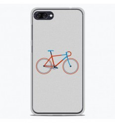 Coque en silicone Asus Zenfone 4 Max ZC554KL - Bike color Hipster