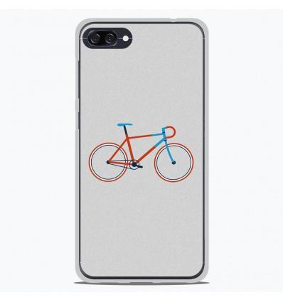 Coque en silicone Asus Zenfone 4 Max ZC554KL - Bike color Hipster