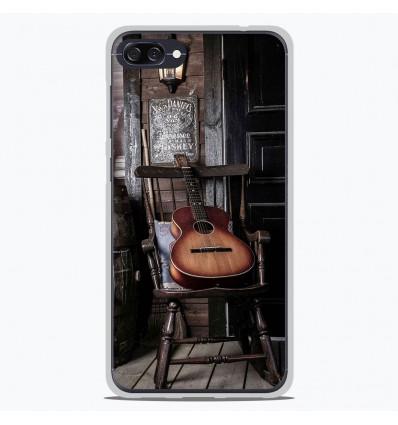 Coque en silicone Asus Zenfone 4 Max ZC554KL - Guitare
