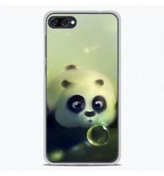 Coque en silicone Asus Zenfone 4 Max ZC554KL - Panda Bubble