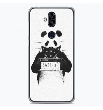 Coque en silicone Asus Zenfone 5 Lite ZC600KL - BS Bad Panda