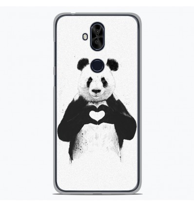 Coque en silicone Asus Zenfone 5 Lite ZC600KL - BS Love Panda
