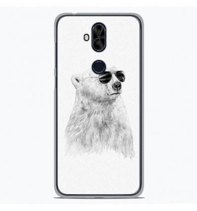 Coque en silicone Asus Zenfone 5 Lite ZC600KL - BS Sunny bear