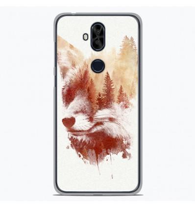 Coque en silicone Asus Zenfone 5 Lite ZC600KL - RF Blind Fox