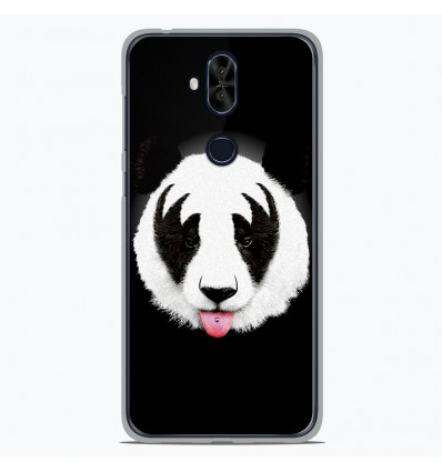Coque en silicone Asus Zenfone 5 Lite ZC600KL - RF Kiss Of Panda