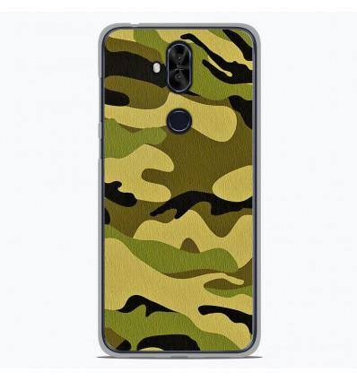 Coque en silicone Asus Zenfone 5 Lite ZC600KL - Camouflage
