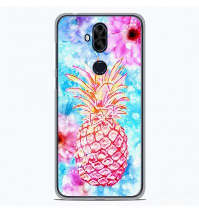 Coque en silicone Asus Zenfone 5 Lite ZC600KL - Ananas