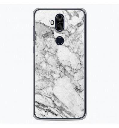 Coque en silicone Asus Zenfone 5 Lite ZC600KL - Marbre Blanc