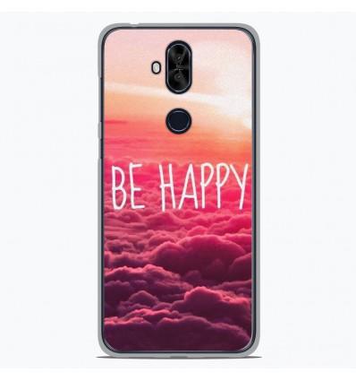Coque en silicone Asus Zenfone 5 Lite ZC600KL - Be Happy nuage