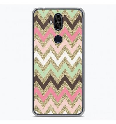 Coque en silicone Asus Zenfone 5 Lite ZC600KL - Texture rose